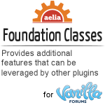 Vanilla Forums - Aelia Foundation Classes
